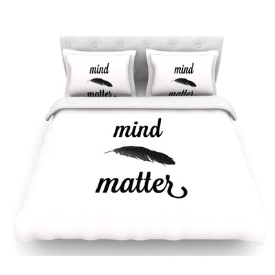 Mind Over Matter II by Skye Zambrana Featherweight Duvet Cover Size: Twin