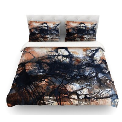 Looking for Water by Steve Dix Featherweight Duvet Cover Size: Twin
