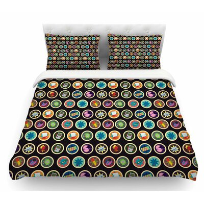 Toys, Games and Candy by Stephanie Vaeth Featherweight Duvet Cover Size: King