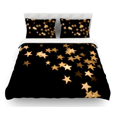 Twinkle by Skye Zambrana Featherweight Duvet Cover Size: Queen