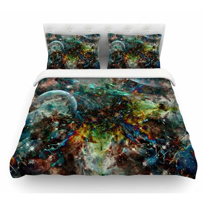 Space by Shirlei Patricia Muniz Abstract Featherweight Duvet Cover Size: Queen
