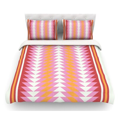 Bomb Pop by Skye Zambrana Featherweight Duvet Cover Size: Queen