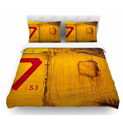 7S3 by Steve Dix Featherweight Duvet Cover Size: Queen