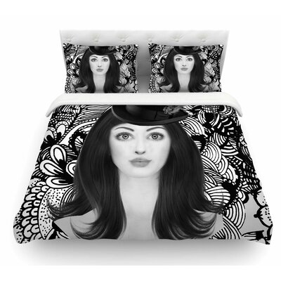 The Secret of the Hat by Shirlei Patricia Muniz Urban Featherweight Duvet Cover Size: Queen