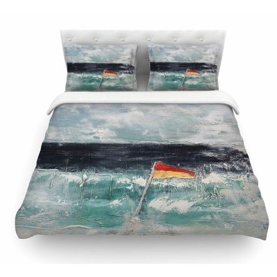 Great Pacific Pty Ltd by Steve Dix Featherweight Duvet Cover Size: Queen