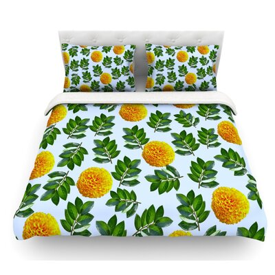 More Marigold by Sreetama Ray Featherweight Duvet Cover Size: Twin