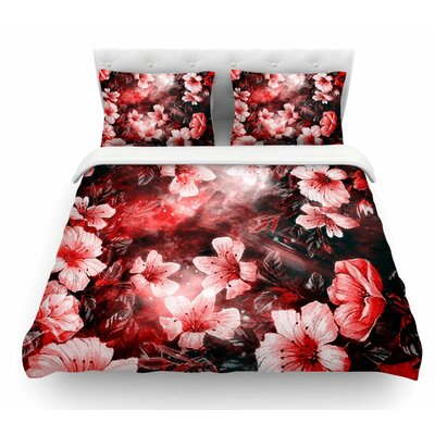 Garden Secret by Shirlei Patricia Muniz Featherweight Duvet Cover Size: King