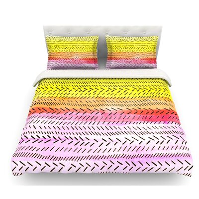 Sunshine by Sreetama Ray Warm Featherweight Duvet Cover Size: Queen