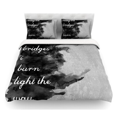 Bridges by Skye Zambrana Featherweight Duvet Cover Size: Twin