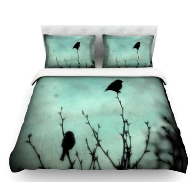 On Top by Robin Dickinson Featherweight Duvet Cover Size: Twin