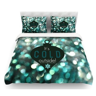 Its Cold Outside by Robin Dickinson Featherweight Duvet Cover Size: Queen