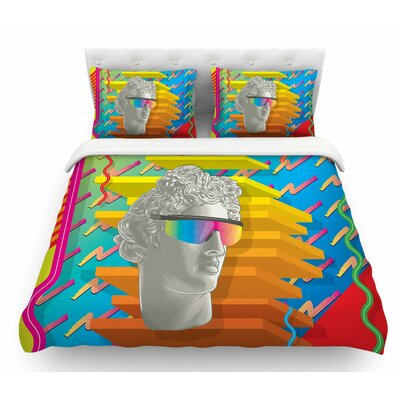 Super Tacky System III by Roberlan Featherweight Duvet Cover Size: King