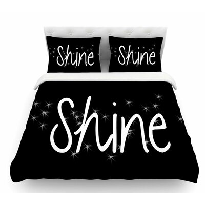 Shine by Suzanne Carter Featherweight Duvet Cover Size: Twin