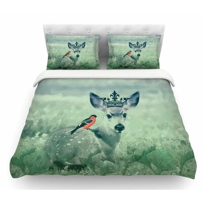 The Night Meadow by Suzanne Carter Featherweight Duvet Cover Size: King
