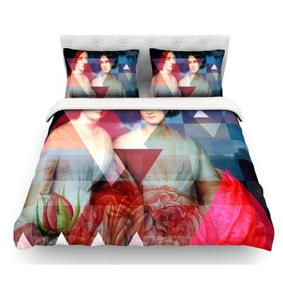 Twins by Suzanne Carter Featherweight Duvet Cover Size: King