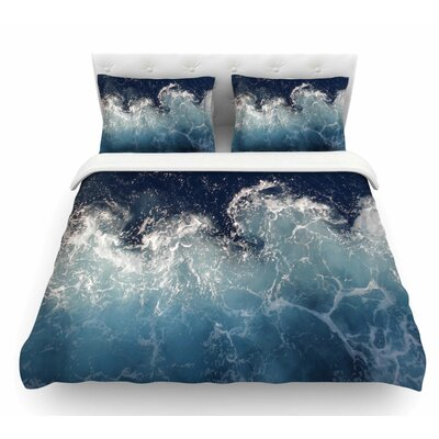 Sea Spray by Suzanne Carter Ocean Featherweight Duvet Cover Size: Queen
