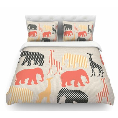 Zoo by Suzanne Carter Featherweight Duvet Cover Size: Twin
