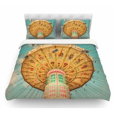 Jovial by Suzanne Harford Featherweight Duvet Cover Size: Queen