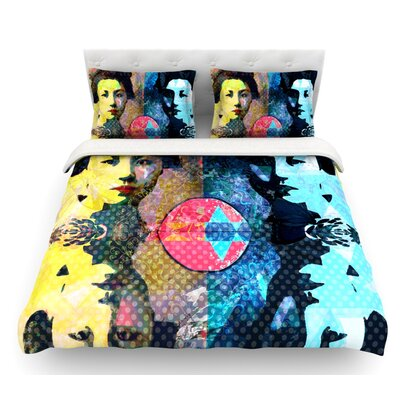 Kimono Girl by Suzanne Carter Featherweight Duvet Cover Size: King