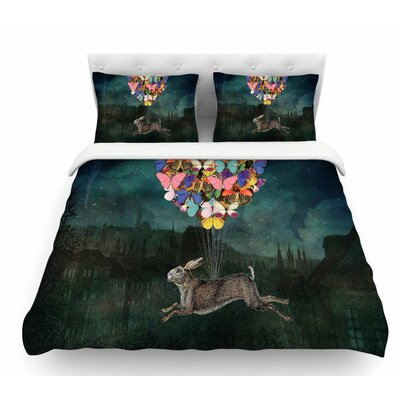 Cross Country by Suzanne Carter Featherweight Duvet Cover Size: King