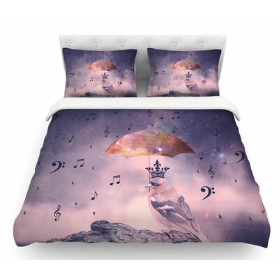 Down Pour by Suzanne Carter Featherweight Duvet Cover Size: King