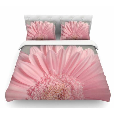 Summer Daisy by Suzanne Harford Floral Featherweight Duvet Cover Size: King