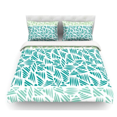 Bamboo by Pom Graphic Design Featherweight Duvet Cover Size: King