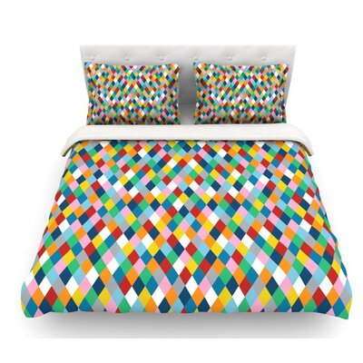 Harlequin by Project M Featherweight Duvet Cover Size: King