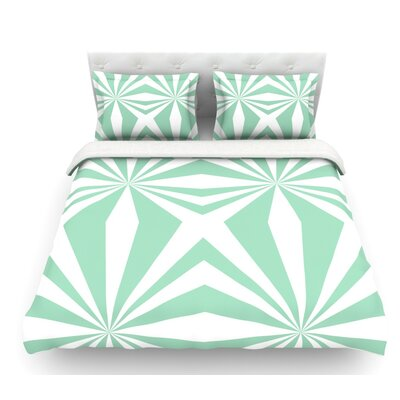 Starburst by Project M Featherweight Duvet Cover Size: Queen