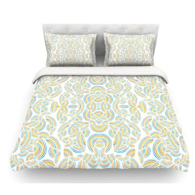 Infinite Thoughts by Pom Graphic Design Featherweight Duvet Cover Size: King