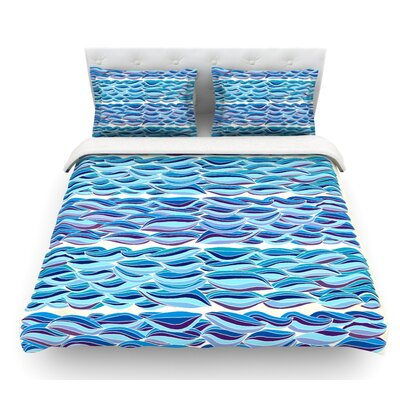 The High Sea by Pom Graphic Design Featherweight Duvet Cover Size: Queen