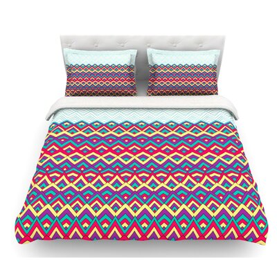 Horizons by Pom Graphic Design Featherweight Duvet Cover Size: Queen