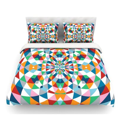 Modern Day by Project M Featherweight Duvet Cover Size: King