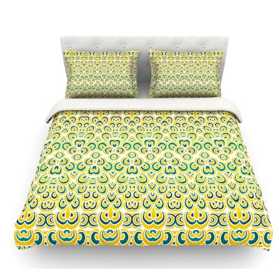 Animal Temple by Pom Graphic Design Featherweight Duvet Cover Size: King