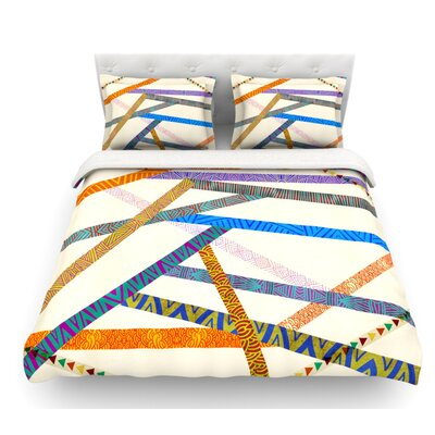 Unparalleled by Pom Graphic Design Featherweight Duvet Cover Size: Queen