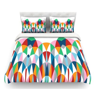 Modern Day Arches by Project M Featherweight Duvet Cover Size: King