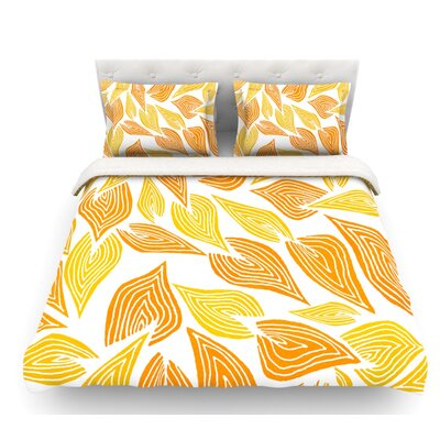 Autumn by Pom Graphic Design Featherweight Duvet Cover Size: Twin