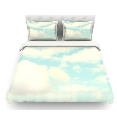 Clouds by Sylvia Cook Featherweight Duvet Cover Size: King