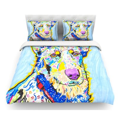 Becca by Rebecca Fischer Rainbow Featherweight Duvet Cover Size: King