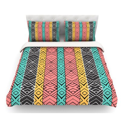 Artisian by Pom Graphic Design Featherweight Duvet Cover Size: Twin