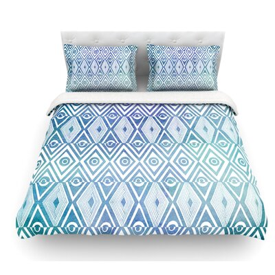 Tribal Empire by Pom Graphic Design Featherweight Duvet Cover Size: Twin