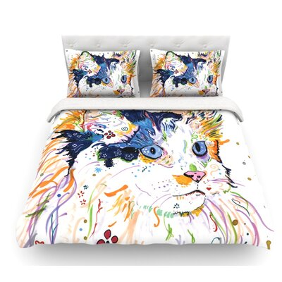 Sophia by Rebecca Fischer Featherweight Duvet Cover Size: Twin