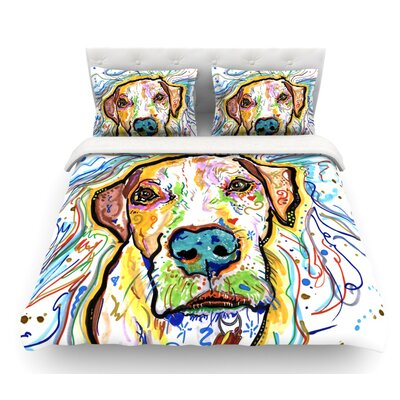 Ernie by Rebecca Fischer Featherweight Duvet Cover Size: King