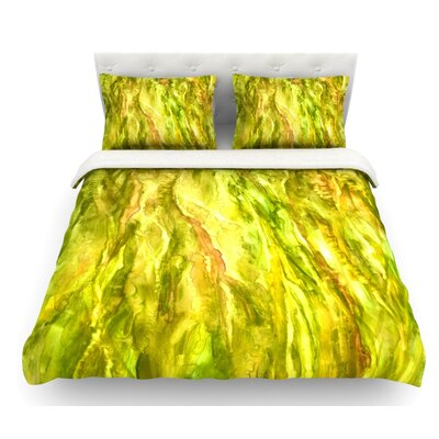 Tropical Delight by Rosie Brown Featherweight Duvet Cover Size: Queen