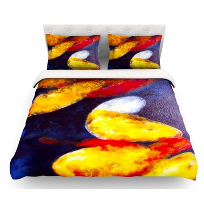 Into the Light by Rosie Brown Featherweight Duvet Cover Size: King