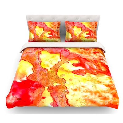 Hot Hot Hot by Rosie Brown Featherweight Duvet Cover Size: Queen