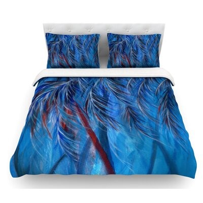 Tropical by Rosie Brown Featherweight Duvet Cover Size: Twin