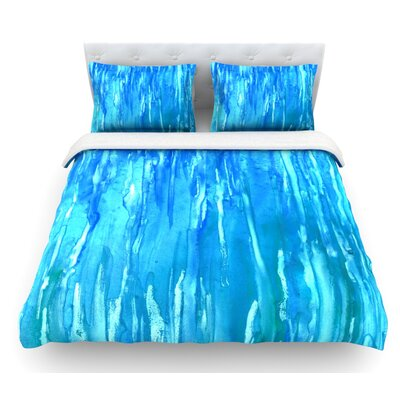 Wet and Wild by Rosie Brown Featherweight Duvet Cover Size: Queen