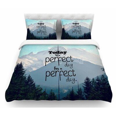 A Perfect Day by Robin Dickinson Featherweight Duvet Cover Size: Twin