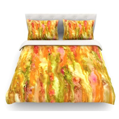 Walk in the Forest by Rosie Brown Featherweight Duvet Cover Size: Twin